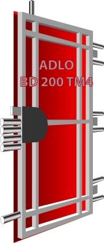 ff83230c4b Sikkerhedsdør TEJEN M4 Termo (Serie ELITE) - ADLO